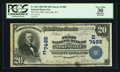 National Bank Notes:Pennsylvania, Sykesville, PA - $20 1902 Date Back Fr. 642 The First NB Ch. # (E)7488. ...