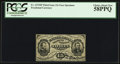 Fractional Currency:Third Issue, Fr. 1272SP 15¢ Third Issue Narrow Margin Face PCGS Choice About New 58PPQ.. ...