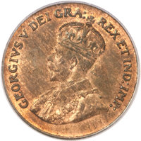 Canada: George V Cent 1923