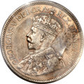 Canada: George V 25 Cents 1915