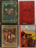 Books:Children's Books, [Children's Literature]. Peter Pan and Wendy, ThreeMusketeers, and Others. Group of Four Books. Various publish...(Total: 4 Items)
