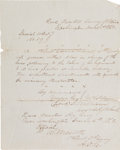 Autographs:Military Figures, Wesley Merritt Autograph Document Signed as Aide-de-Camp to Major General George B. McClellan....