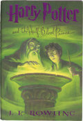 Books:Children's Books, J. K. Rowling. Harry Potter and the Half-Blood Prince. NewYork: [2005]. First American edition. Signed by the aut...