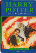 Books:Children's Books, J. K. Rowling. Harry Potter and the Half-Blood Prince.London: [2005]. First trade edition. Signed by the author....