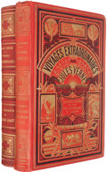 Books:Children's Books, Jules Verne. Two Titles from the Voyages ExtraordinairesSeries: Les Tribulations d'un Chinois en Chine; Les... (Total: 2Items)