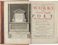 Books:Literature Pre-1900, Edmund Spenser. The Works of that Famous English Poet, Mr. Edmond Spenser. London: 1679. First complete edition....