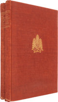Books:Fine Press & Book Arts, [Gregynog Press]. Euripides. The Plays of Euripides.[Montgomeryshire]: The Gregynog Press, 1931. One of five hundr...(Total: 2 Items)
