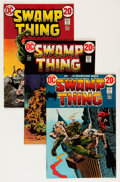 Bronze Age (1970-1979):Horror, Swamp Thing Savannah pedigree Group (DC, 1973-74) Condition:Average VF/NM.... (Total: 7 Comic Books)