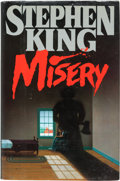 "Books:Horror & Supernatural, Stephen King. Misery. [NY]: [1987]. First edition.Inscribed: ""For Brian - From your #1 fan - Stephen King""...."