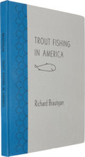 Books:Fine Press & Book Arts, [Arion Press]. Richard Brautigan. Trout Fishing in America.Arion Press, 2003. Limited to 400 copies of which this...