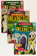 Silver Age (1956-1969):Horror, Tales of the Unexpected Group - Savannah pedigree (DC, 1956-64)....(Total: 6 Comic Books)