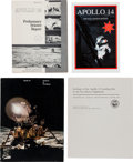Explorers:Space Exploration, Apollo Program: Seven Publications Associated with the Apollo 14Mission.... (Total: 7 Items)