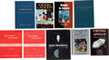Explorers:Space Exploration, Apollo Program: Nine Books Concerning Apollo Spacecraft. ...(Total: 9 Items)
