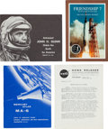 Explorers:Space Exploration, Mercury-Atlas 6 (Friendship 7): Mission Report and VariousLiterature.... (Total: 5 Items)