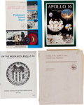 Explorers:Space Exploration, Apollo Program: Four Works Related to the Apollo 16 Mission....(Total: 4 Items)