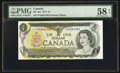 Canadian Currency: , BC-46a $1 1973 with PA prefix. ...