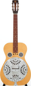 Musical Instruments:Resonator Guitars, 1981 Dobro OMI Natural Resonator Guitar, Serial # 8 1135 1D. ...