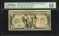 Canadian Currency: , Toronto, ON - The Canadian Bank of Commerce $5 Jan. 2, 1935 Ch. #75-18-04. ...