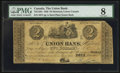 Canadian Currency: , Montreal, LC - The Union Bank $2 Aug. 1, 1838 Ch. # 725-12-04. ...