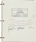 Explorers:Space Exploration, Apollo 13 Flown Crew-Signed LM Lunar Surface Maps Book Presented to and Originally from the Personal Collection of...