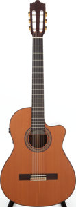 Musical Instruments:Acoustic Guitars, 2003 Ramirez 2CWE Natural Classical Electric Guitar, Serial #54575....