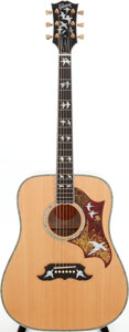 Musical Instruments:Acoustic Guitars, 2005 Gibson Doves in Flight Natural Acoustic Guitar, Serial #02915011....