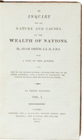 Books:Fine Bindings & Library Sets, Adam Smith. An Inquiry into the Nature and Causes of the Wealth of Nations. London: J. Maynard, 1811. Later edition.... (Total: 3 Items)