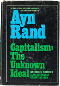 Books:Philosophy, Ayn Rand. Capitalism: The Unknown Ideal. [New York: 1966].First edition. Signed by Rand....