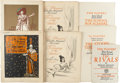 Books:Art & Architecture, [Eric Pape, association]. Collection of Four Play Programs and Three Broadside Play Programs for Productions Mounted by The Pl... (Total: 7 Items)