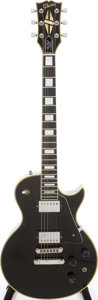 Musical Instruments:Electric Guitars, 1979 Gibson Les Paul Custom Black Solid Body Electric Guitar,Serial # 72009530....