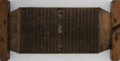 Books:World History, Chinese Carved Wood Printing Block. Bu [Supplement to aPhilosophical/Ritual Text]. Ca. 19th Century. Carved text on...