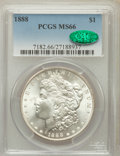 Morgan Dollars: , 1888 $1 MS66 PCGS. CAC. PCGS Population (641/16). NGC Census:(947/71). Mintage: 19,183,832. Numismedia Wsl. Price for prob...