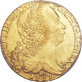British West Indies, British West Indies: British Colonial gold Brazil 6400 Reis1777-R,...
