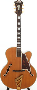 Musical Instruments:Acoustic Guitars, 1950 D'Angelico Excel Blonde Archtop Acoustic Guitar, Serial # 1844. ...