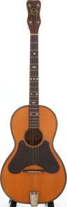 Musical Instruments:Acoustic Guitars, 1920s Regal Natural Tenor Guitar. ...