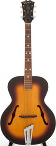Musical Instruments:Acoustic Guitars, 1950s Premier Sunburst Thinline Archtop Acoustic Guitar. ...