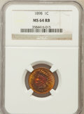 Indian Cents: , 1898 1C MS64 Red and Brown NGC. NGC Census: (192/141). PCGSPopulation (285/55). Mintage: 49,823,080. Numismedia Wsl. Price...