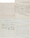 Miscellaneous:Ephemera, [7th Regiment Iowa Volunteers]. Union General Edward Ord SignedLetter and Letters Associated With the Sanitary Conditions and...(Total: 4 Items)