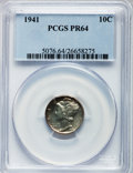 Proof Mercury Dimes: , 1941 10C PR64 PCGS. PCGS Population (930/2776). NGC Census:(388/2133). Mintage: 16,557. Numismedia Wsl. Price for problem ...