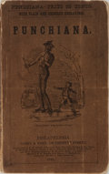 Books:Americana & American History, John Leech, et al. [illustrators]. Punchiana. Carey &Hart, 1845. Publisher's wrappers with rubbing and light wear. ...