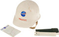 Explorers:Space Exploration, NASA Engineer's Hard Hat, Slide Rule, and Pocket Protector....(Total: 3 Items)
