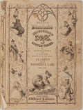 Books:Children's Books, W. H. Thwaites [illustrator]. Aladdin and the WonderfulLamp. Hewet, 1853. Publisher's wrappers with soiling and wea...