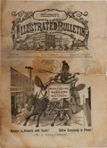 Books:Americana & American History, W. C. Tillotson [editor]. Tillotson's Illustrated Bulletin.Fall, 1879. Tillotson, 1879. [8] pages and uncut. Wo...