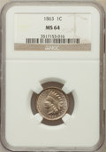 Indian Cents: , 1863 1C MS64 NGC. NGC Census: (617/224). PCGS Population (782/244).Mintage: 49,840,000. Numismedia Wsl. Price for problem ...