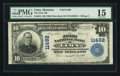 National Bank Notes:Montana, Lima, MT - $10 1902 Plain Back Fr. 632 The First NB Ch. # 11492. ...