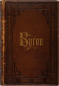 Books:Literature Pre-1900, Lord Byron. The Poetical Works. Porter & Coates, [n.d.]. Publisher's leather with light rubbing and front joint cra...