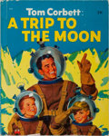 Books:Science Fiction & Fantasy, Marcia Martin. Tom Corbett: A Trip to the Moon. Wonder Books, 1953. Publisher's pictorial boards with light rubb...