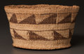 American Indian Art:Baskets, A KLAMATH TWINED BASKET...