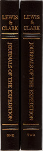 Books:Americana & American History, [Lewis and Clark]. Nicholas Biddle [editor]. The Journals of theExpedition. Vol. I & II. Easton Press, 1993. Pu... (Total:2 Items)