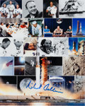 Autographs:Celebrities, Michael Collins Signed Color Photo Originally from His PersonalCollection....
